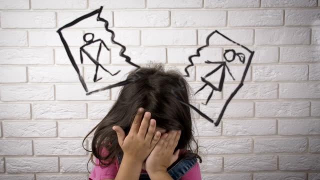 divorce. divorce parent. - divorce video stock e b–roll
