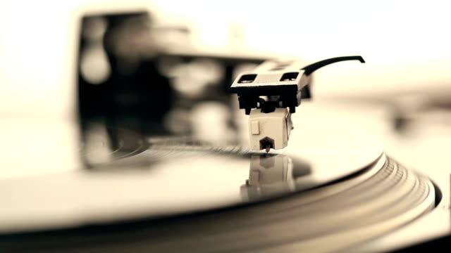 Dj stylus on record video
