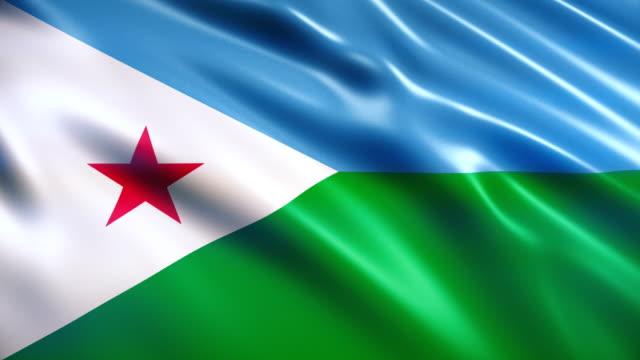 djiboutis flagga - kanvas bildbanksvideor och videomaterial från bakom kulisserna