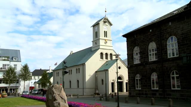 stockvideo's en b-roll-footage met dómkirkjan kerk - nieuwe testament