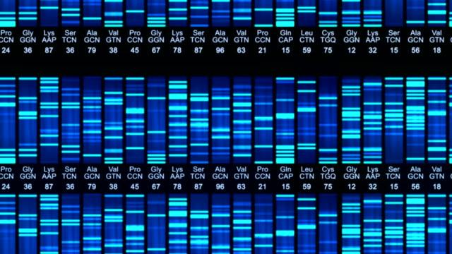 animation de Séquence d'ADN - Vidéo