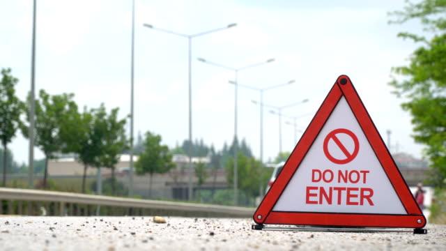 Do Not Enter - Traffic Sign
