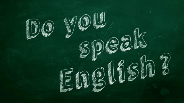 Fala inglês? - vídeo
