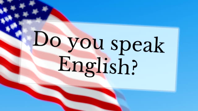 Do you speak English video