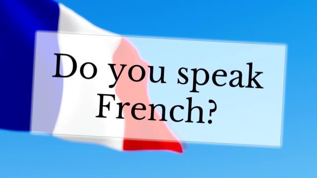 Do you speak French video