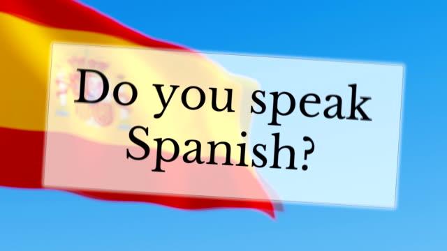 Você falar espanhol - vídeo