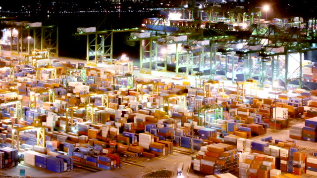 Docks and Shipping Containers video