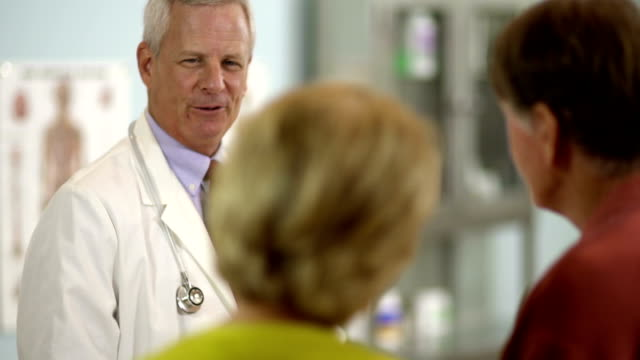 Doctor and Senior Patients video