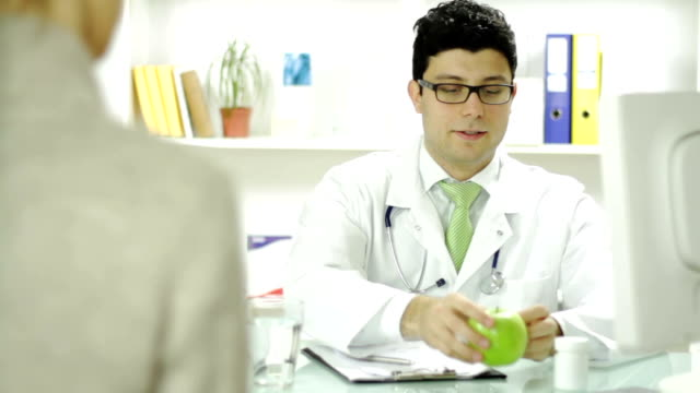 Doctor Apple Pills Patient Diet Health Choice video