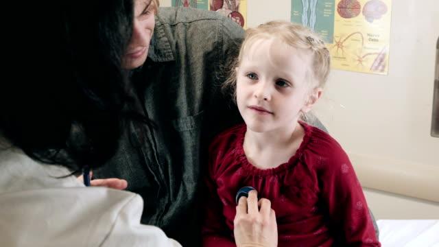 Doctor Checking Little Girl video