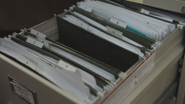 Doctor in Hospital Office Open Medical Archive