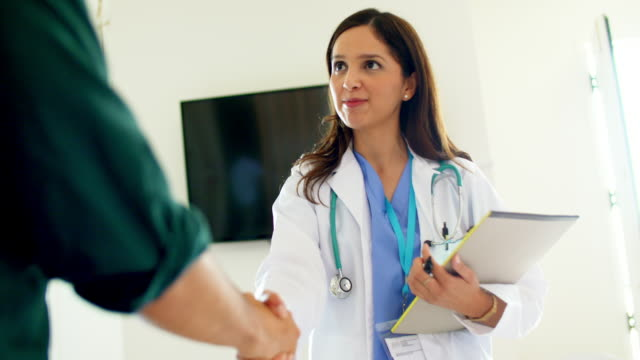 Doctor Meeting with Patient video