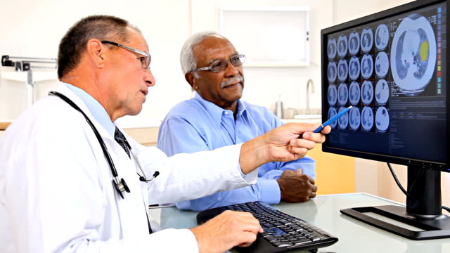 Doctor Reviewing Test Results With Patient video
