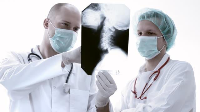 医師レビュー、x 線 - 歯科医師点の映像素材/bロール