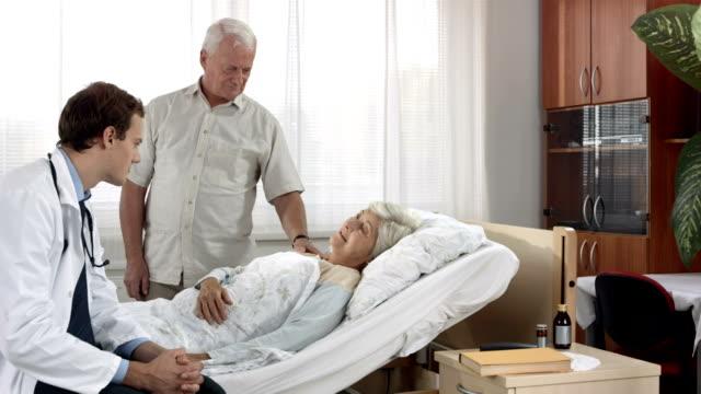 HD DOLLY: Doctor Talking To A Patient video