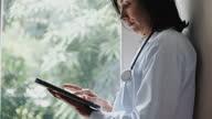 istock Doctor using Digital tablet 1298383356