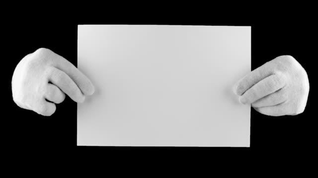 Document in hands video