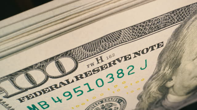 100 dollar bills being counted, stacking. USD Notes. Cinematic look Money counter checking amount of 100 dollar bills. USD Notes. Cinematic look. Drug cartel, crime and black market concepts. High quality 4k footage large group of objects stock videos & royalty-free footage