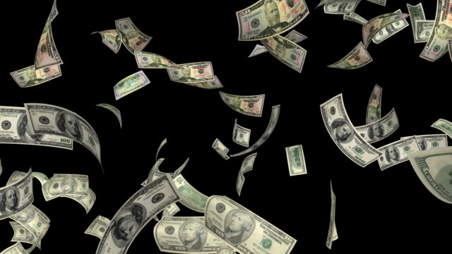 dollar bills #2 hd - välstånd bildbanksvideor och videomaterial från bakom kulisserna