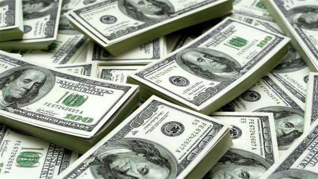 доллар комплекты - dollar bill стоковые видео и кадры b-roll