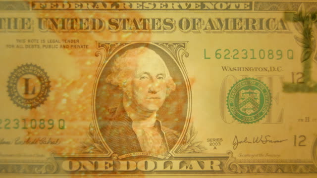 Dollar Montage Featuring One And Five Dollars--HD video