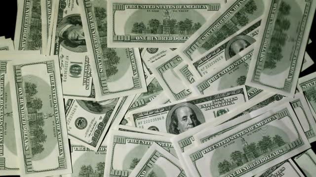 dollaro transition con luma matte - bonus video stock e b–roll