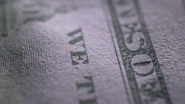 US Dollar Close up of U.S. Dollar loan stock videos & royalty-free footage