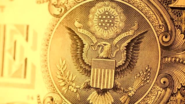 Dollar Close up of U.S. Dollar financial building stock videos & royalty-free footage