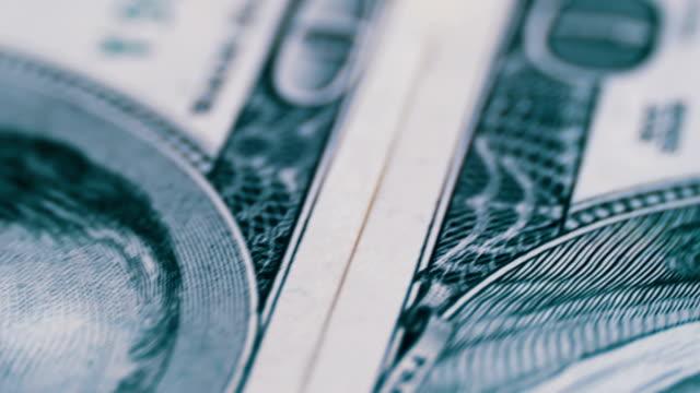 Dollars, American Banknotes Rotate video