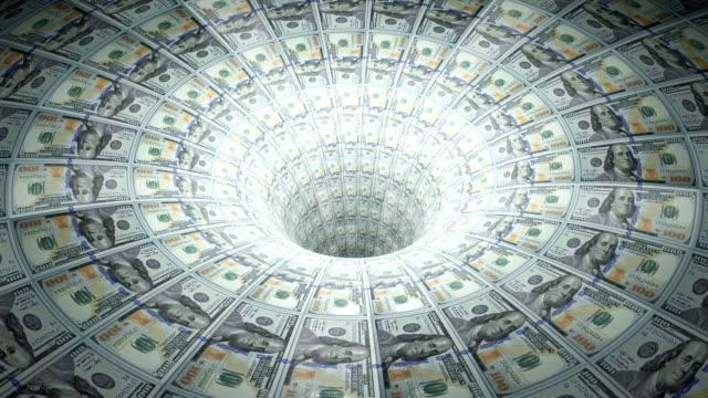 Dollars down the drain. video