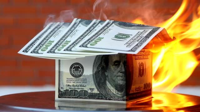 Dollars house burning video