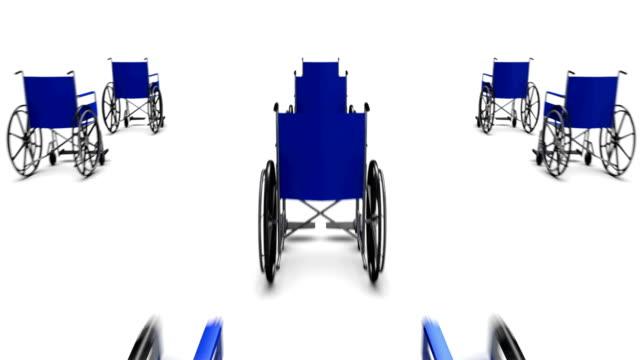 Dolly back le ofrecen una gran cantidad de sillas de ruedas - vídeo