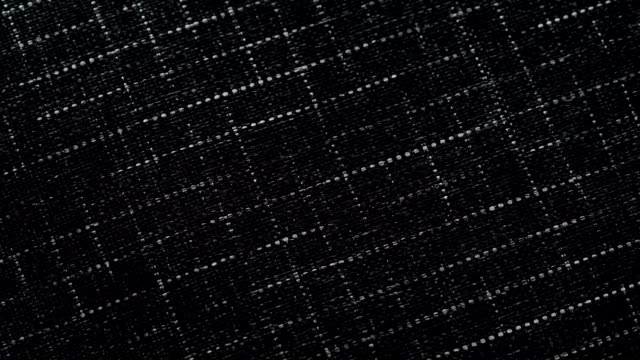 dolly shot of Grid pattern fabric background video