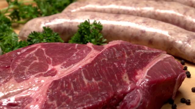 Dolly shot に肉 ビデオ