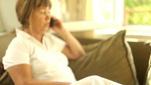 Hd Dollymature Women Talking On Phone Video