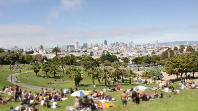Dololes Park San Francisco Time Lapse video