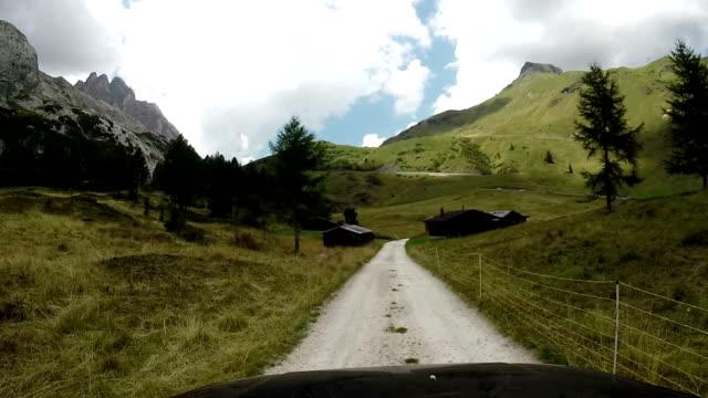 Dolomites,Italy, Fedaia Mountain Pass video