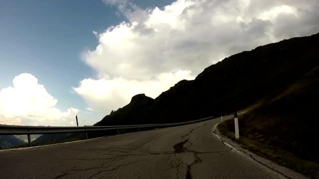 Dolomites,Italy, Pordoi Mountain Pass video