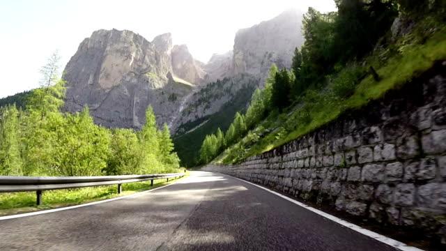 Dolomites,Italy, Sella Mountain Pass video