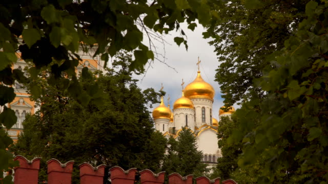 Dome of the Temple of the Moscow Kremlin video