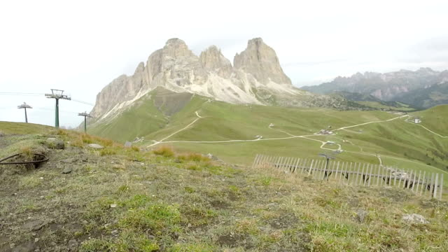 Domites alps viewed from Col Rodella video