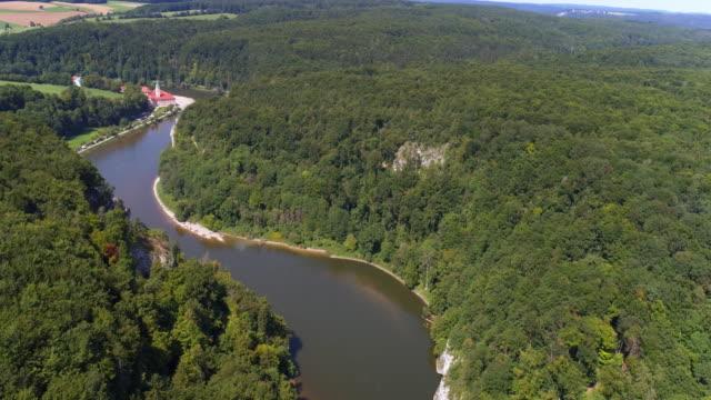 Donaudurchbruch (Danube Gorge) And Weltenburg Abbey In Bavaria video