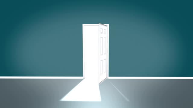 ドアのアニメーション - 幸運点の映像素材/bロール