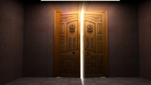 Door Opening Through Lights video