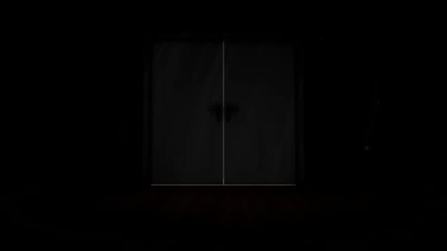 Door opening to light video