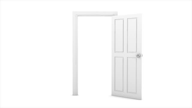 door opening video