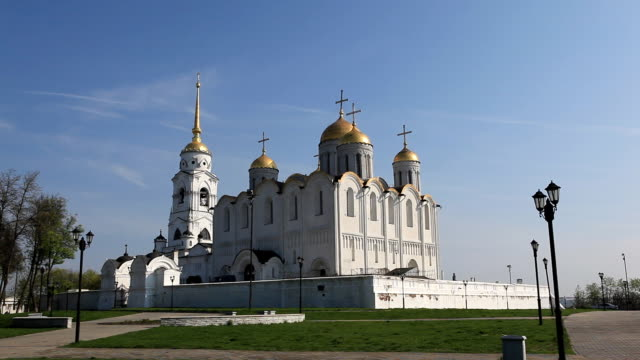 Dormition Cathedral in Vladimir / Russia video