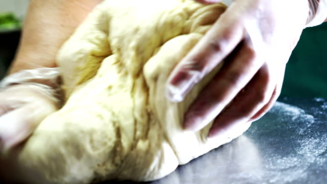 dough for pastry - impasto video stock e b–roll