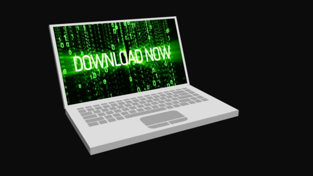 Download now matrix effect on laptop. Motion Background. Available in 4K