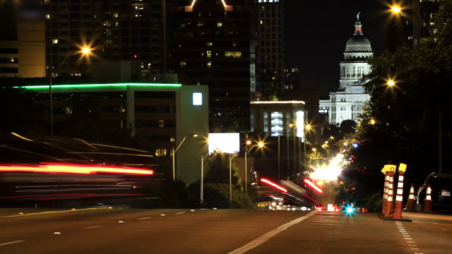 Downtown Austin from Congress Avenue video